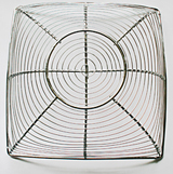 Wire fruit bowl - preliminary image in the creation of 'Golden Spirals' - Abstract Art by Jane Trotter