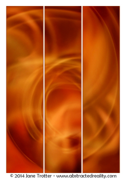 Solar Flare - Abstract Art by Jane Trotter