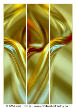 Tulip - Abstract Art by Jane Trotter