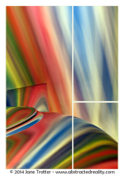Splay of Colour - Abstract Art by Jane Trotter