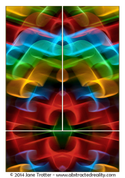 Mystique - Abstract Art by Jane Trotter