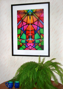 Prismatic - a Fine Art Print from Abstracted Reality