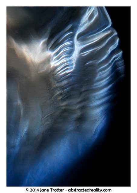 Angel Wing - Abstract Art by Jane Trotter