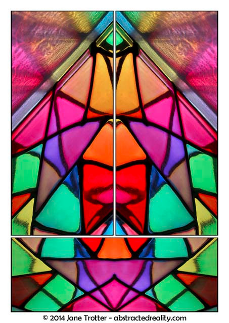 Prismatic - Abstract Art by Jane Trotter