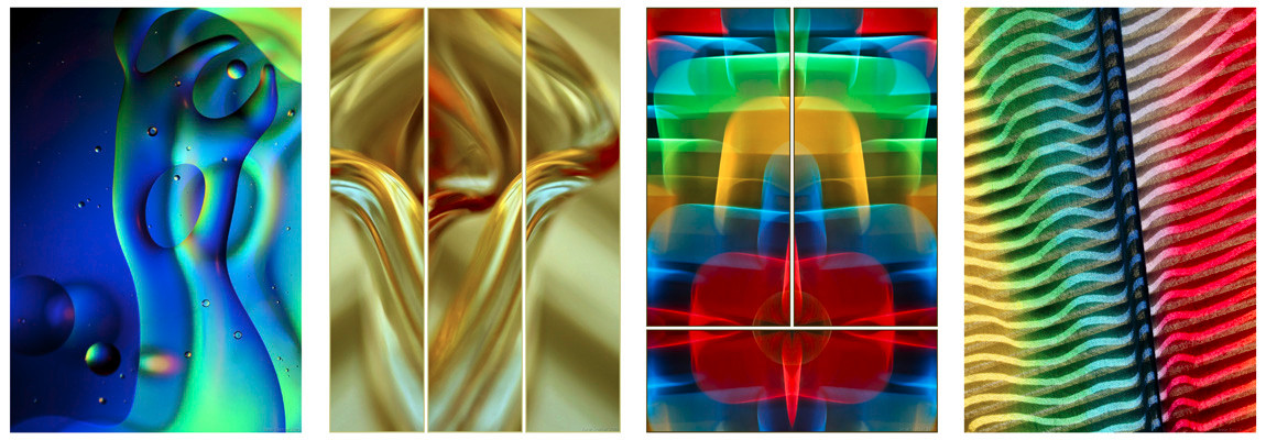 Abstract Images Caught in Camera