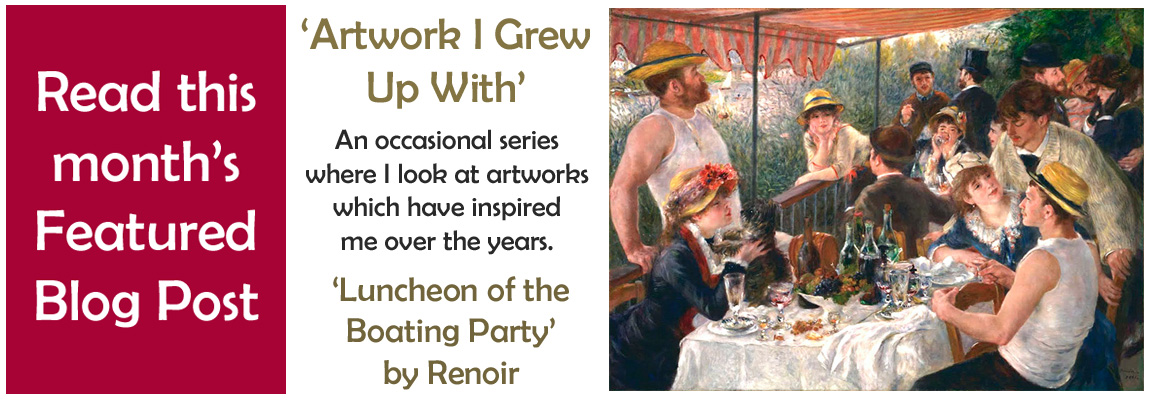 Artwork I Grew Up With - Luncheon of the Boating Party
