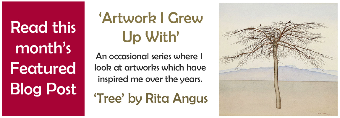 Artwork Grew Up With - Tree Rita Angus