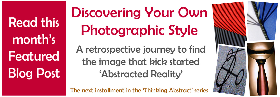 Read the blog post on discovering your own photographic style