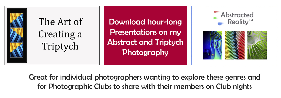 Download Jane's Presentations on her abstract and triptych photography