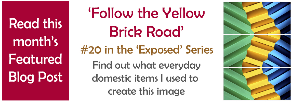 Featured Article Exposed Number 20 'Follow the Yellow Brick Road'
