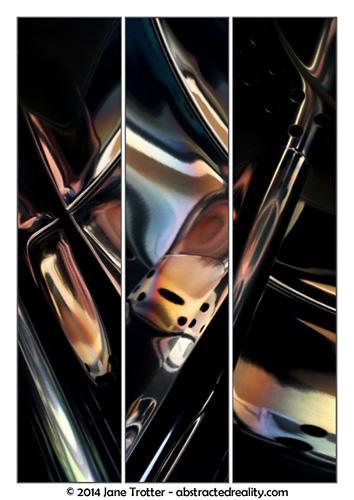 Deus Ex Machina - Abstract Art by Jane Trotter