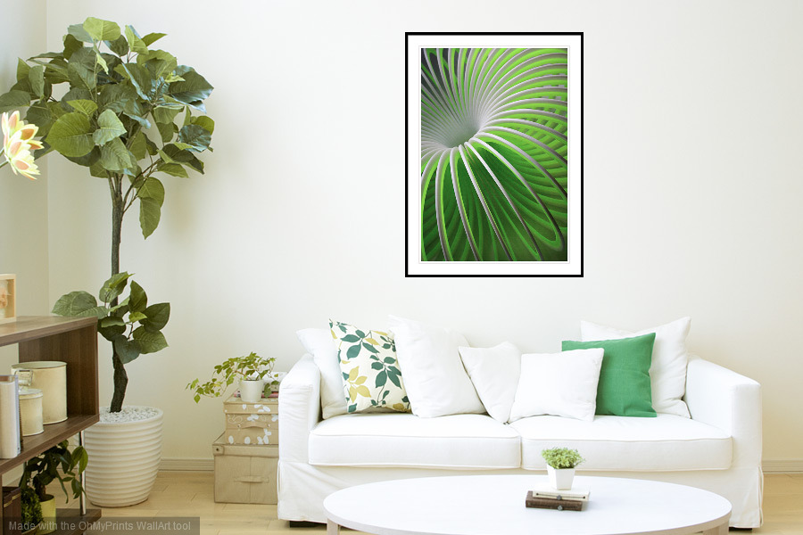 Come Full Circle - 'On the Wall'. A Fine Art Print from Abstracted Reality