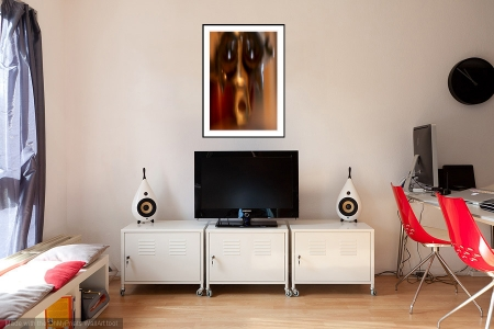 Ghost in the Machine - On the Wall. A Fine Art Print from Abstracted Reality