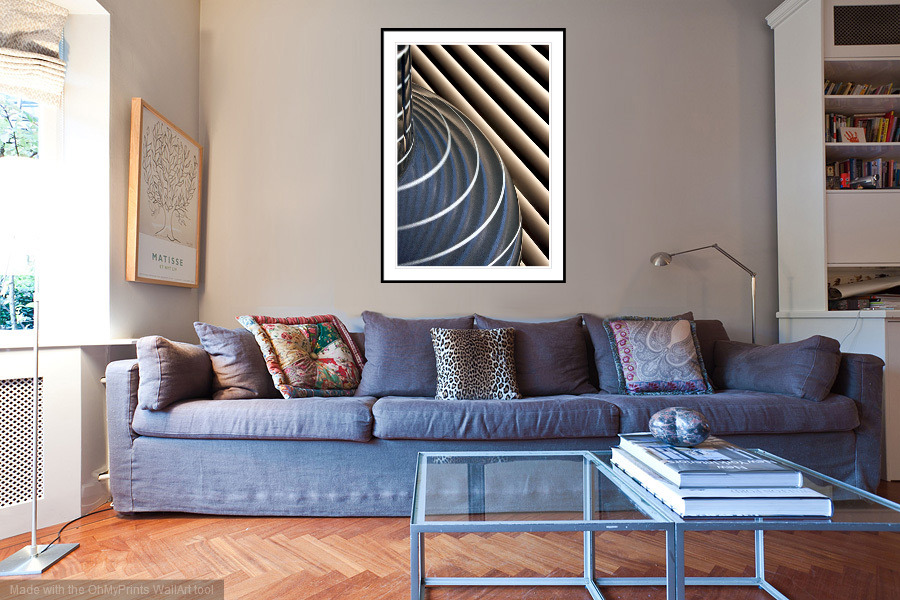 Blinded by the Light - 'On the Wall'. A Fine Art Print from Abstracted Reality
