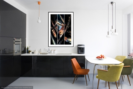 Deus Ex Machina - On the Wall. A Fine Art Print from Abstracted Reality