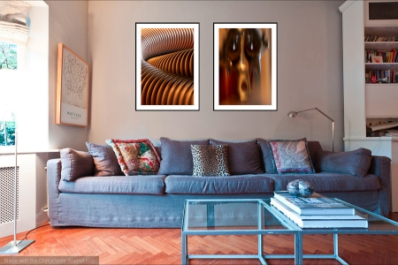 Encoiled & Ghost in the Machine - On the Wall. Fine Art Prints from Abstracted Reality
