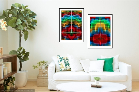 Mystique & Astral Plane - On the Wall. Fine Art Prints from Abstracted Reality