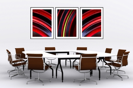 Genesis - On the Wall. A Fine Art Print from Abstracted Reality