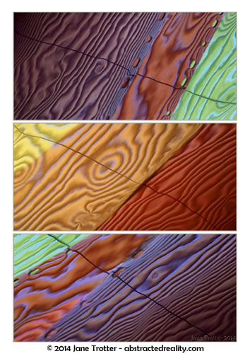 Ingrained - Abstract Photography by Jane Trotter