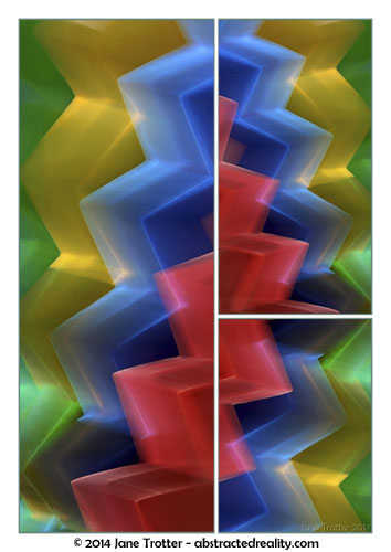 Cascade - Abstract photography by Jane Trotter