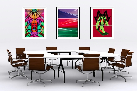 A Selection of Abstracts - On the Wall. Fine Art Prints from Abstracted Reality