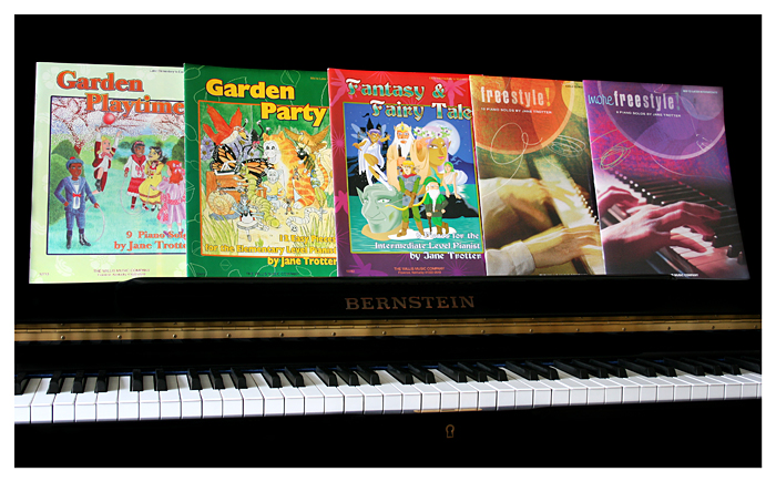Jane Trotter's Piano Repertoire Books