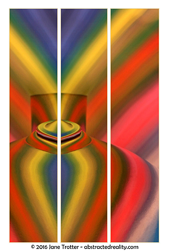 Psychedelic Tea - abstract photography by Jane Trotter