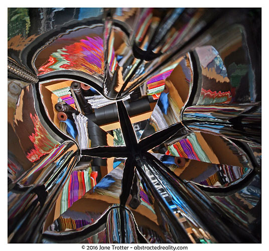 Piano Kaleidoscope - abstract photography by Jane Trotter