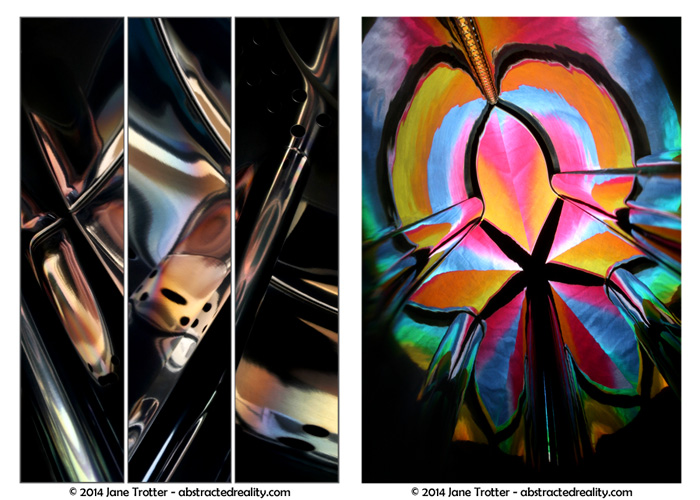 'Deus ex Machina' & 'Colour Cathedral' - abstract photography by Jane Trotter