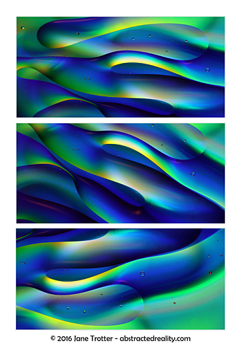 'Undulation' - abstract art by Jane Trotter