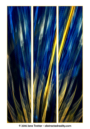 'Fracture' - abstract art by Jane Trotter