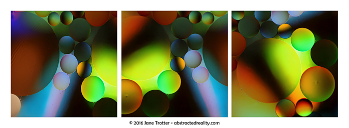 'Orbital Congestion' - abstract art by Jane Trotter