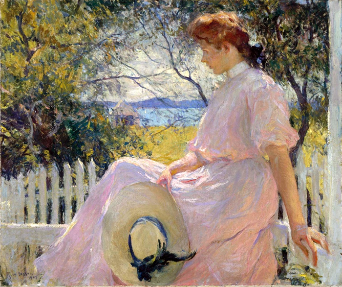 Artwork I Grew Up With - 'Eleanor' by Frank Weston Benson