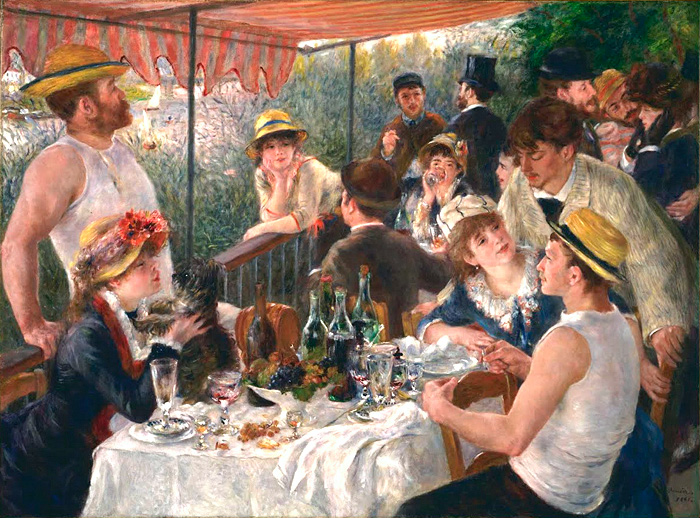 Artwork I Grew Up With - 'Luncheon of the Boating Party' by Renior