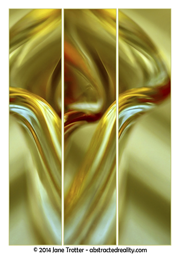 'Tulip' - abstract art by Jane Trotter