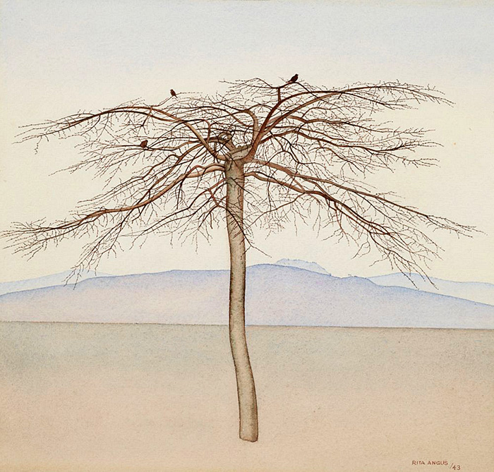 'Tree' (1943) by Rita Angus
