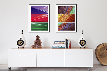 Complementary Fine Art Prints - Create your own Interior Design