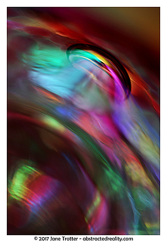 'Birth of Colour' - abstract photography by Jane Trotter