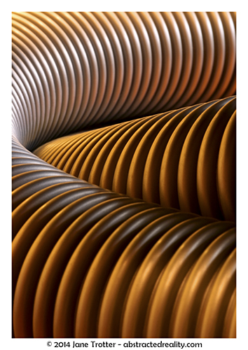 'Encoiled' - Abstract Art by Jane Trotter