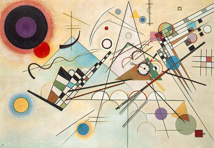 Composition VIII 1926 - Wassily Kandinsky
