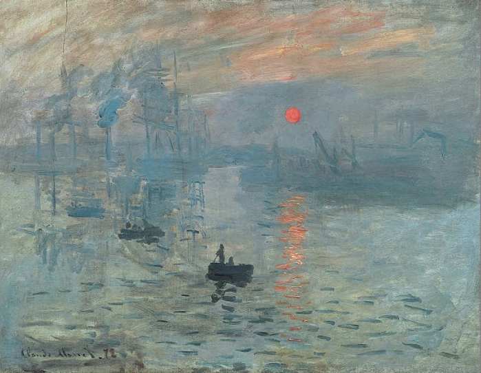 'Impression, Sunrise' by Claude Monet
