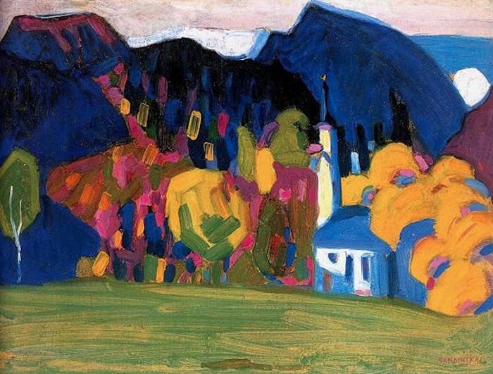Impression 'Autumn' 1908 - Wassily Kandinsky