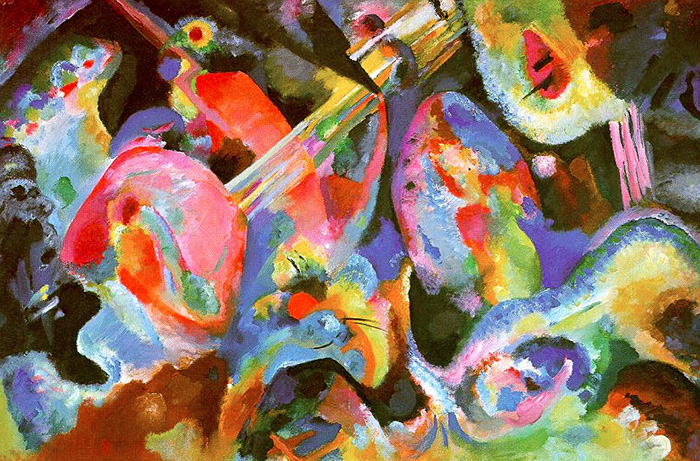 Improvisation 'Deluge' 1913 - Wassily Kandinsky