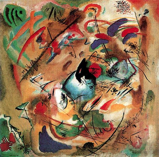 Improvisation 'Dreamy' 1913 - Wassily Kandinsky